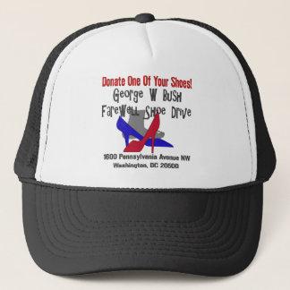 George W Bush Farewell Shoe Drive Trucker Hat