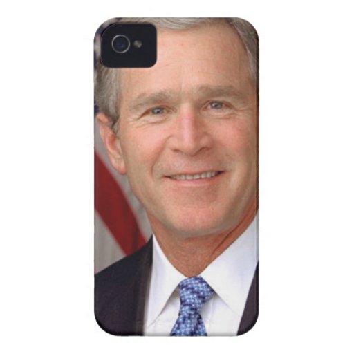 George W Bush iPhone 4 Cases