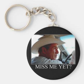 George W. Bush Llavero Redondo Tipo Pin