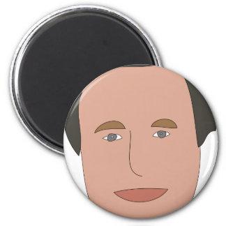 George W Bush 2 Inch Round Magnet