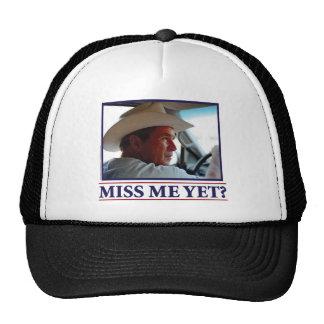¿George W Bush Miss Me todavía Gorro De Camionero