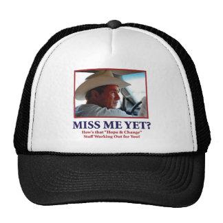George W Bush - Miss Me todavía Gorros Bordados