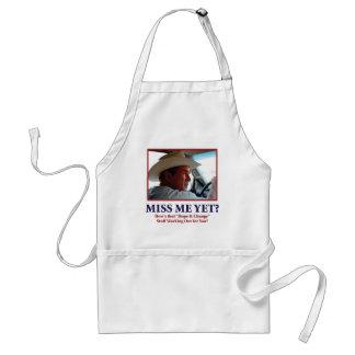 George W Bush - Miss Me Yet Adult Apron