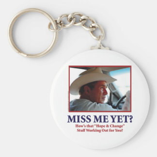 George W Bush - Miss Me Yet Keychain