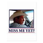 George W Bush Miss Me Yet? Postcards