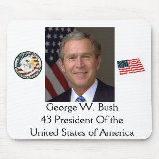 George W. Bush mouspad, ... Mouse Pad