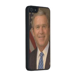 George W. Bush official portrait Carved® Maple iPhone 5 Case
