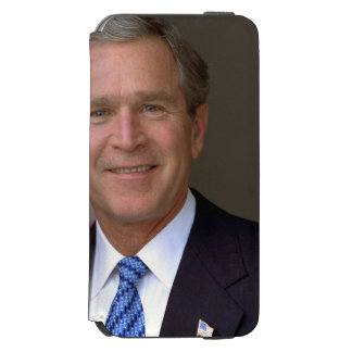 George W. Bush official portrait Incipio Watson™ iPhone 6 Wallet Case