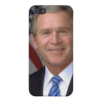 George W. Bush official portrait iPhone 5/5S Covers