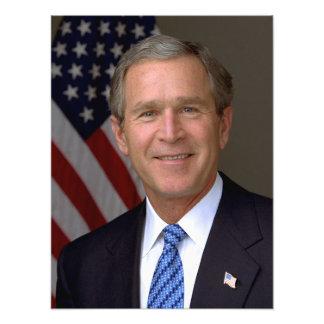 George W. Bush official portrait Photo Print