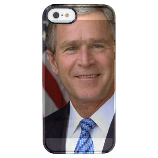 George W. Bush official portrait Uncommon Clearly™ Deflector iPhone 5 Case