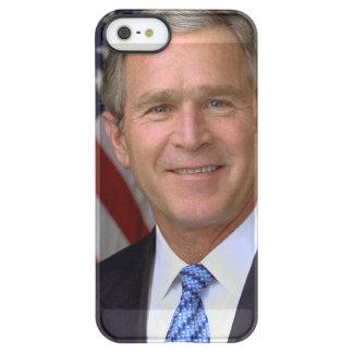 George W. Bush official portrait Uncommon Permafrost® Deflector iPhone 5 Case