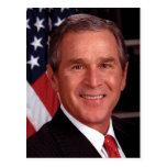 George W Bush Post Card