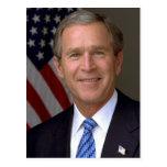 George W Bush Postales