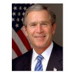 George W. Bush Postcard