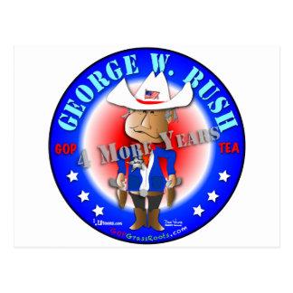 George W. Bush Post Card