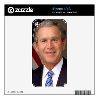 George W Bush Skin For iPhone 4
