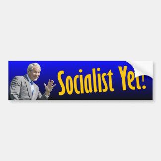 George W. Bush: ¿Socialista todavía? Etiqueta De Parachoque
