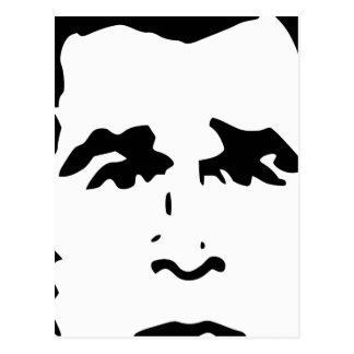 George W. Bush Stencil Postcard