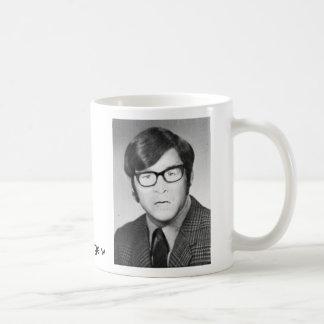 george w throw back classic white coffee mug