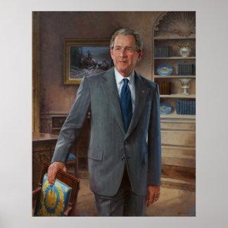 GEORGE WALKER BUSH by John Howard Sanden Poster