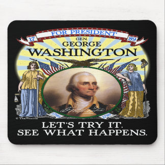 George Washington 1789 Election Mouse Pad