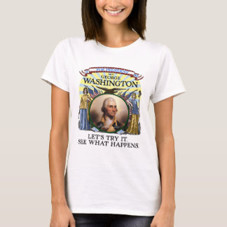 George Washington 1789 Election (Women's Light) T-Shirt