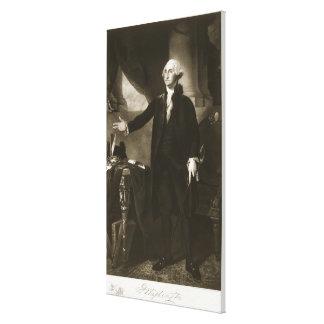 George Washington, 1r presidente del Sta unido Impresiones En Lona