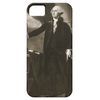 George Washington, 1st President of the United Sta iPhone 5 Covers