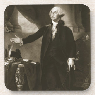 George Washington, 1st President of the United Sta Drink Coaster