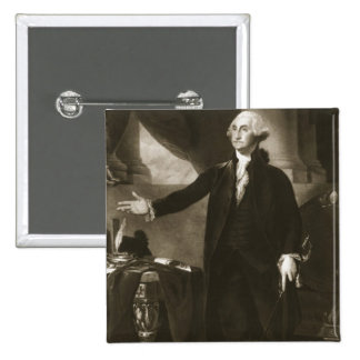 George Washington, 1st President of the United Sta Pinback Button