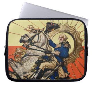George Washington a caballo Mangas Computadora