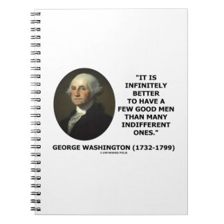 George Washington A Few Good Men Quote Notebook