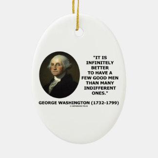 George Washington A Few Good Men Quote Ornaments