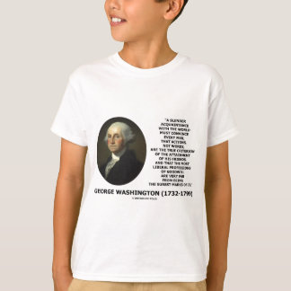 George Washington Actions Not Words True Criterion T-Shirt