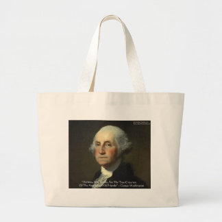 George Washington Actions Not Words Wisdom Gifts Bag