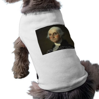 George Washington Actions Not Words Wisdom Gifts Pet T Shirt