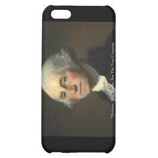 George Washington Actions Not Words Wisdom Gifts iPhone 5C Case