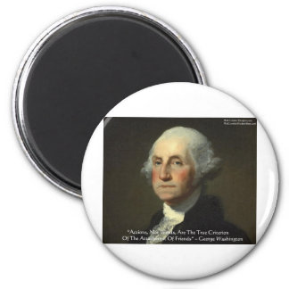 George Washington Actions Not Words Wisdom Gifts Refrigerator Magnets