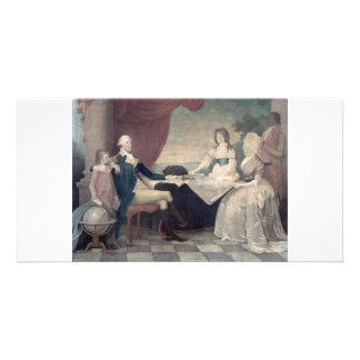 George Washington and His Family photo cards