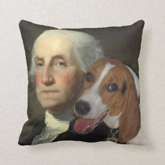 George Washington and his fox hound Pillow