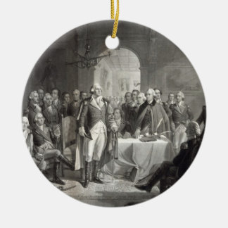 George Washington and His Generals ornament