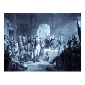 George Washington and His Generals postcards