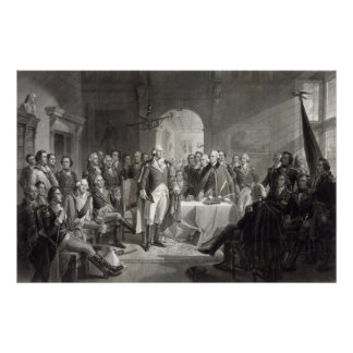 George Washington and His Generals poster/print Poster