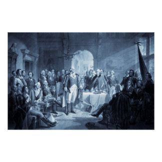 George Washington and His Generals print