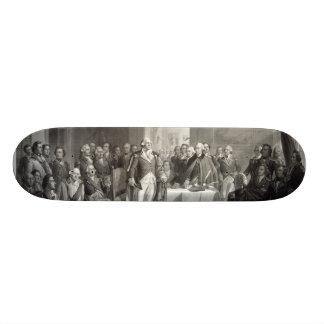 George Washington and His Generals skateboard