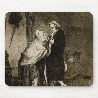 George Washington and his Mother Mouse Pad
