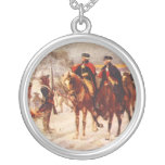 George Washington and Lafayette at Valley Forge Pendants