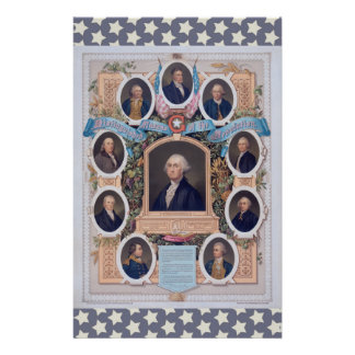 George Washington and The Masons Of The Revolution Stationery Paper
