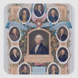 George Washington and The Masons Of The Revolution Stickers